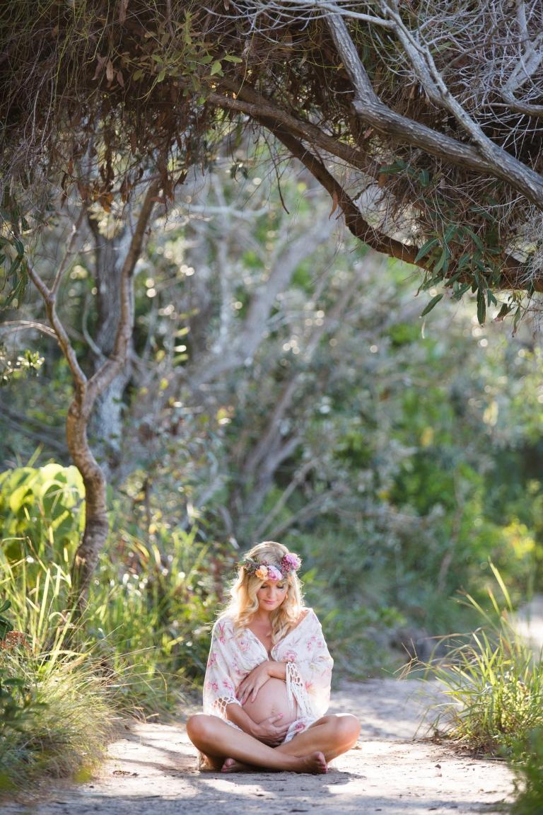 Maternity photo Noosa.